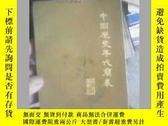 二手書博民逛書店中國歷史罕見簡表93品Y19658 文物出版社 文物出版社 出版