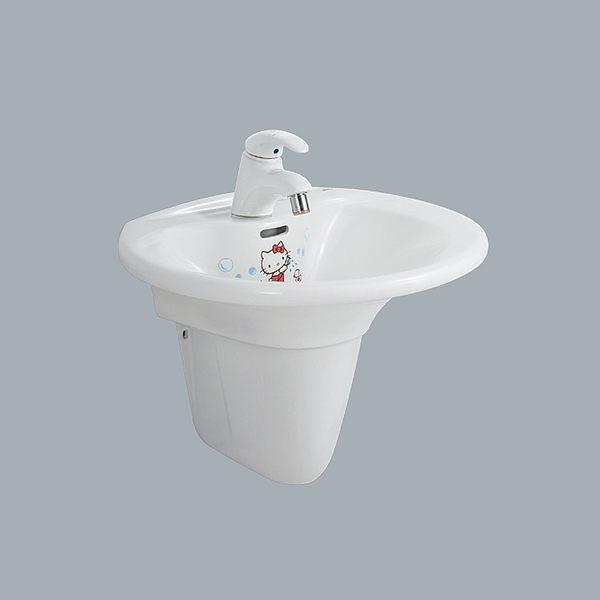 《修易生活館》HCG和成 HELLO KITTY 系列洗臉盆 LF4182 (KS) 龍頭 LF3213 (KS) *另有DAY&DAY配件 驚喜價