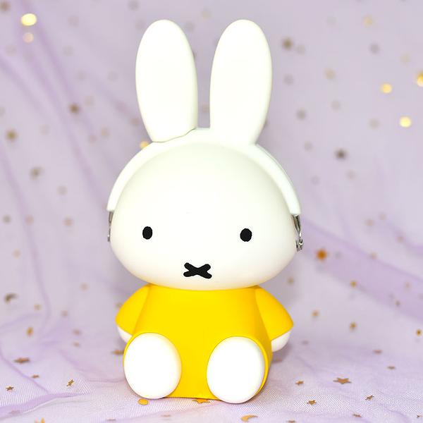 Miffy 米菲兔 日本正版 p+g desing 3D POCHI 矽膠零錢包