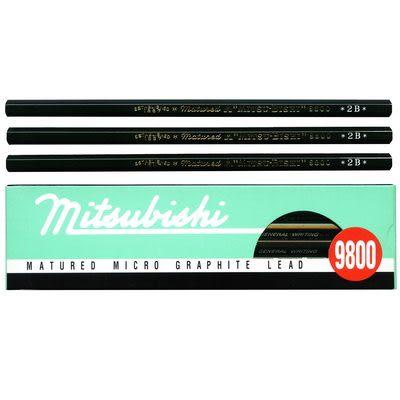 UNI 三菱 9800 製圖鉛筆 6B
