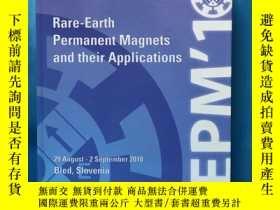 二手書博民逛書店Rare-Earth罕見Permanent Magnets an