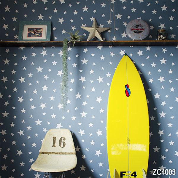 山月【塗完膠壁紙- 單品5m起訂】星星紋Harelu stellar ZC4001 ZC4002 ZC4003 ZC4004 ZC4005 ZC4006