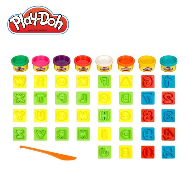 Play-Doh培樂多-培樂多字母數字遊戲