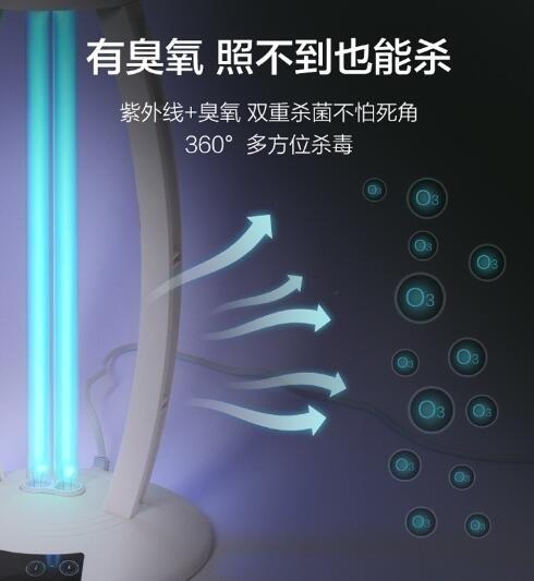 24H現貨 110V家用紫外線燈UV殺菌消毒燈可擕式消毒燈管紫外光消毒器