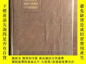 二手書博民逛書店珍本,On罕見Heroes, Hero-worship and