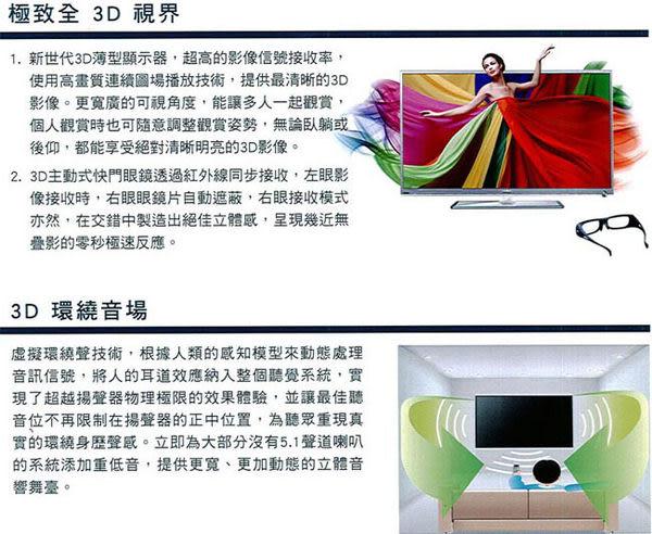 ★福利品★贈3D眼鏡★SAMPO 55吋 3D LED數位液晶電視 EM-55IT08D /EM55IT08D ★贈基本安裝