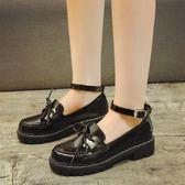 洛麗塔鞋子日常蘿莉鞋Lolita軟妹學生萌妹子日系小皮鞋可愛娃娃鞋「輕時光」