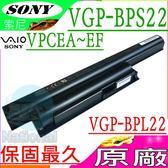 SONY電池(原廠)-索尼 VGP-BPS22,VPCEA25FN/L,VPCEA26FF/P電池,VPCEA38EC/L電池,VPCEA3BGN/BI,VPCEE2E1E/WI