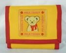 【震撼精品百貨】MILK TEDDY _泰迪熊 ~ 運動短夾『紅黃』