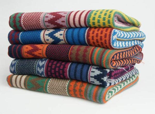 波西米亞針織棉圍巾【烏克蘭玫瑰粉】 N007 韓版 羊絨 混毛料【Vogues唯格思】