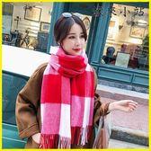 圍巾韓版女秋冬季加厚羊羔絨
