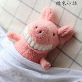 角落生物 微笑大牙玩偶娃娃豬公仔
