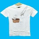 【收藏天地】創意T恤*泡湯小籠包T恤/  創意T恤 送禮 旅遊紀念