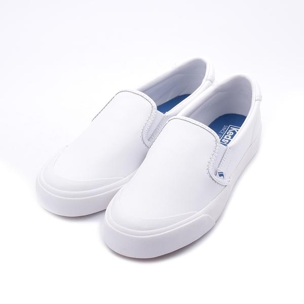 KEDS CREW KICK75 套式休閒鞋 白 9202W122936 女鞋 平底│皮革│懶人│小白鞋
