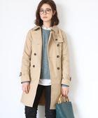 女裝 長版 女風衣外套 長大衣 日本品牌【coen】