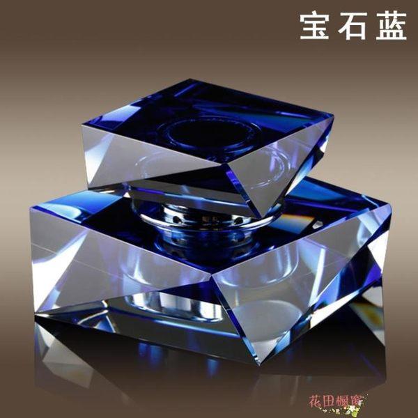 汽車香水擺件車載車內用座式香水座除異味車上水晶創意裝飾品