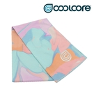 COOLCORE CHILL SPORT 涼感運動巾 大理石粉藍 MARBLE PRINT (涼感運動毛巾、降溫、運動、運動巾)