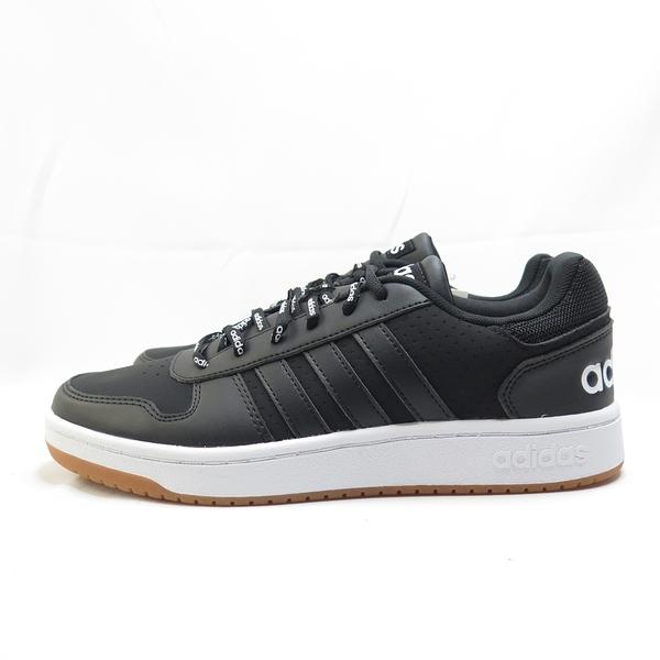 ADIDAS HOOPS 2.0 男款 休閒鞋 公司貨 FW4480 黑【iSport愛運動】