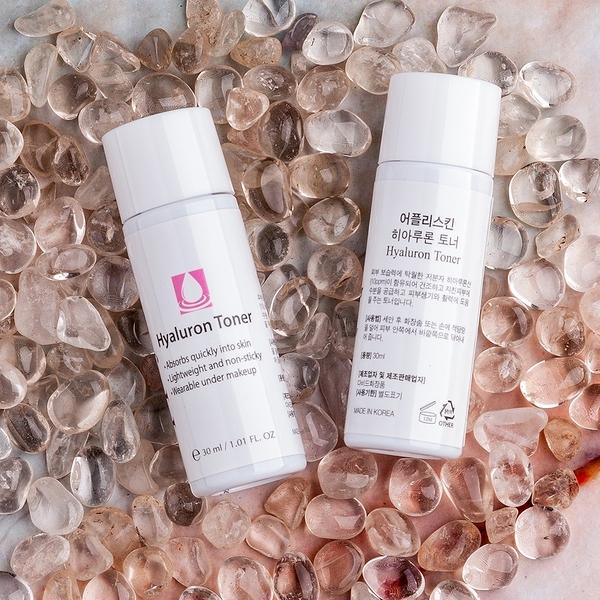 即期品【韓國Apply Skin】玻尿酸保濕化妝水30ml(隨身瓶3入組)