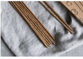 日式家用雞翅木筷子無漆無蠟筷子家庭套裝