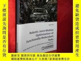 二手書博民逛書店Robotic罕見Joint-Motion Optimizati