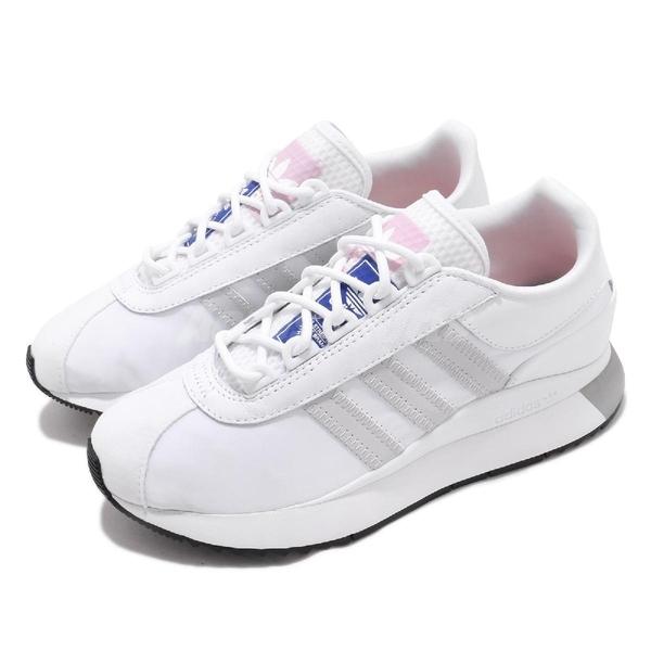 adidas 休閒鞋 SL Andridge W 白 灰 女鞋 運動鞋 【ACS】 EG6846