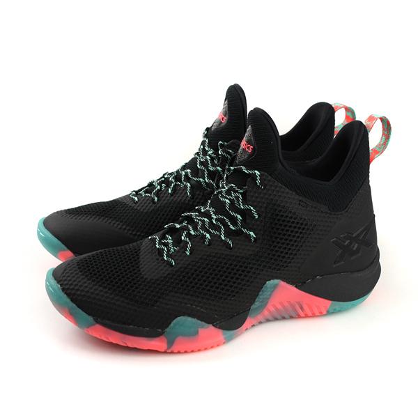 亞瑟士 ASICS BLAZE NOVA 藍球鞋 運動鞋 黑色 男鞋 TBF31G-1606 no334