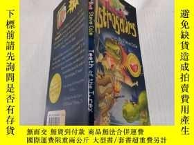 二手書博民逛書店astrosaurs罕見teeth of the T.rex: 霸王龍的牙Y200392