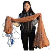 捕魚網易撒網旋網拋網手撒網傳統手拋網魚網igo 夏洛特