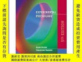 二手書博民逛書店Experimental罕見PsychologyY23583 Myers, Anne; Hansen, Chr