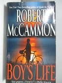 【書寶二手書T1/原文小說_ASD】Boy's Life_McCammon, Robert R.