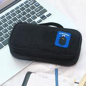 ◄ 生活家精品 ►【N238】時尚卡通多功能收納包 筆袋 手提 文具包 鉛筆盒 大容量 多色 辦公室