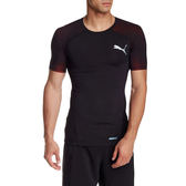 PUMA ACTV 男 黑 運動壓縮機能上衣吸排 緊身上衣 緊身衣 壓縮衣 短袖 T恤 51389301