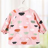 柔棉質感寶寶防水罩衣工作服 兒童工作服 防水衣