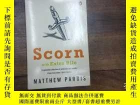 二手書博民逛書店scorn罕見with Extra BileY270271 MA