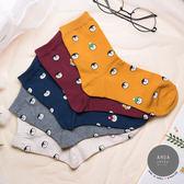 現貨✶正韓直送【K0263】韓國襪子 滿版小企鵝頭中筒襪 韓妞必備 百搭款 素色襪 免運 阿華有事嗎