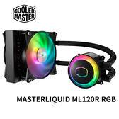 Cooler Master 酷碼 MasterLiquid ML120R RGB 一體式CPU水冷散熱器 MLX-D12M-A20PC-R1