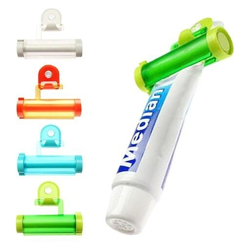 可吊式便利擠牙膏器(1入)『STYLISH MONITOR』顏色隨機出貨 D880966