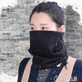 騎行面罩 戶外圍脖抓絨多功能男女士冬季加厚保暖套頭騎行脖套防風圍巾面罩 交換禮物
