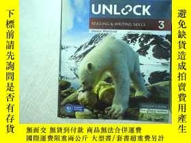 二手書博民逛書店UNLOCK罕見READING WRITING SKILLS 3