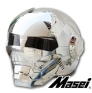 Masei公司貨美國 鋼鐵人 IRON MAN 鐵灰 逼  限量 多功能 全罩式 安全帽 下殺6折