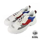Palladium Pallakix 藍紅色 麂皮 網布 休閒鞋 男女款NO.B0833【新竹皇家 76425-609】