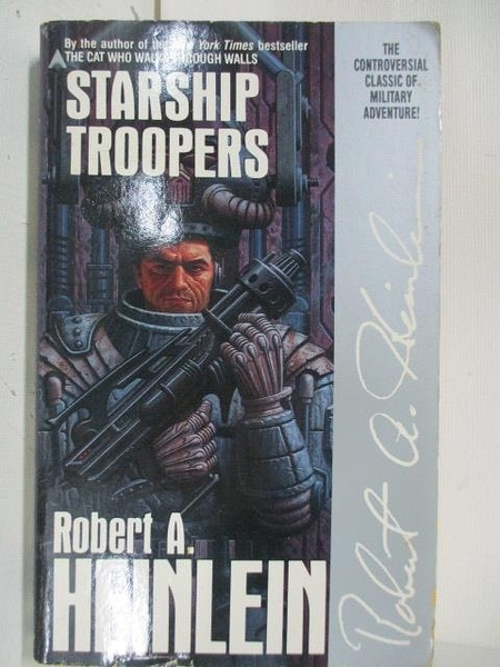 【書寶二手書T1/原文小說_ALP】Starship Troopers_Robert A. Heinlein
