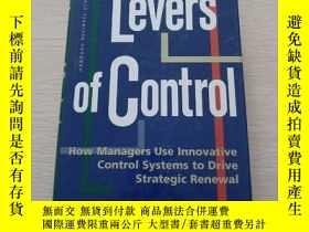 二手書博民逛書店LeversofControl:HowManagers