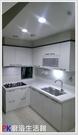 ❤PK廚浴生活館 實體店面❤ 高雄流理台 上下櫥L型流理台 LG台面 白鐵桶身