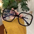 眼鏡框 韓版復古大框黑色眼鏡框網紅款女大臉顯瘦小紅書方形鏡框可配 寶貝寶貝計畫 上新