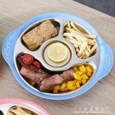 304不銹鋼寶寶分格餐盤兒童餐具分格碗餐盤子嬰兒分菜盤『CR水晶鞋坊』