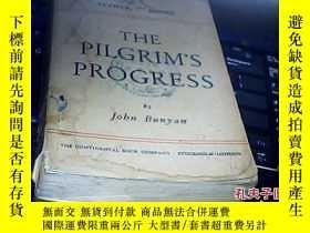 二手書博民逛書店罕見民國原版英文【THE--PILGRIM S--PROGRES