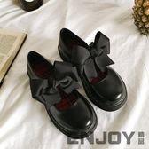 全館83折 2018日系軟妹洛麗塔lolita可愛公主鞋女圓頭學生蝴蝶結娃娃鞋單鞋