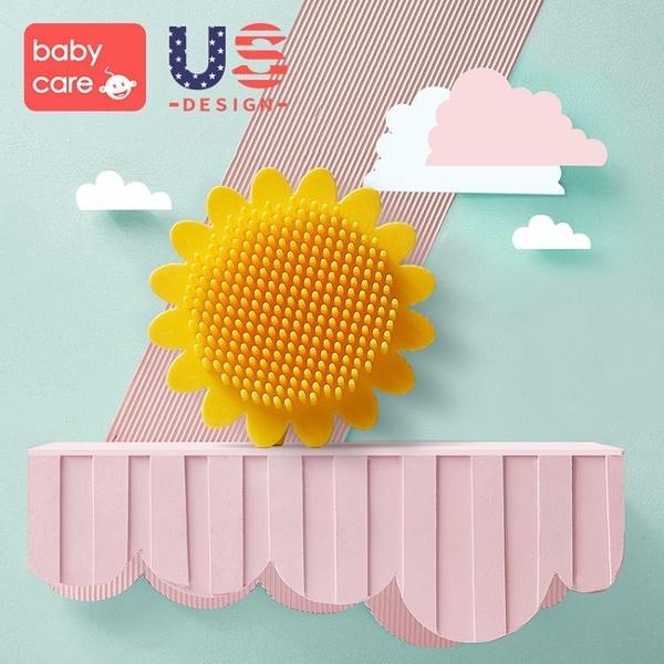 搓澡神器babycare洗澡刷 去頭垢硅膠搓澡棉沐浴搓泥洗頭神器